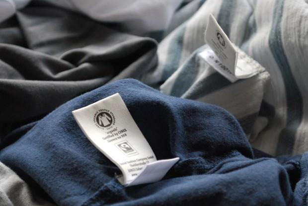GOTS und Fairtrade Siegel