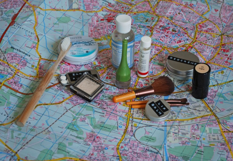 Naturkosmetik Travel Essentials, Naturkosmetik Reisen, Naturkosmetik Kulturtasche, Naturkosmetik Kulturbeutel, Naturkosmetik unterwegs, Naturkosmetik Probiergrößen