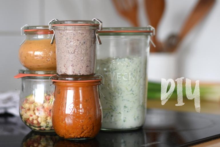 Vegane Brotaufstriche selbst machen, DIY Brotaufstriche, Brotaufstrich Rezepte, vegane Aufstriche